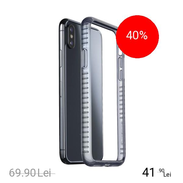 Cellularline Husa Capac Spate Bumper Negru APPLE iPhone X