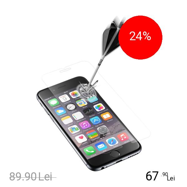 Cellularline Sticla Securizata Clasica 3 Bucati APPLE iPhone 6, iPhone 7