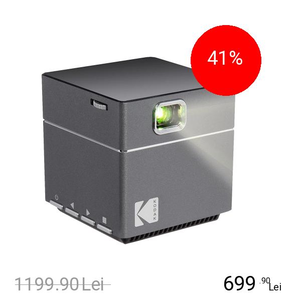 KODAK Cube Proiector Portabil