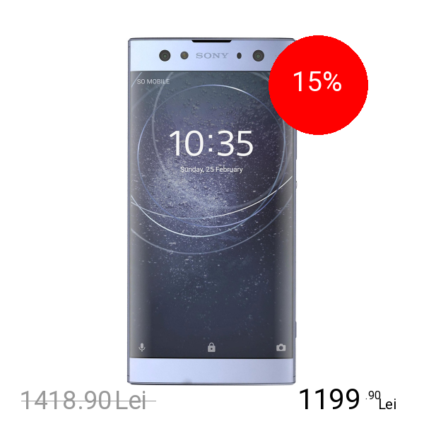 Sony Xperia XA2 Ultra Dual Sim 64GB LTE 4G Albastru 4GB RAM