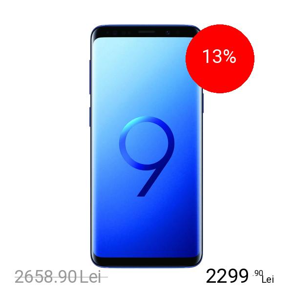 Samsung Galaxy S9 Dual Sim 64GB LTE 4G Albastru 4GB RAM
