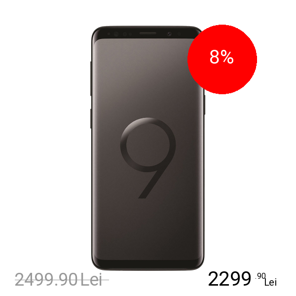 Samsung Galaxy S9 Dual Sim 64GB LTE 4G Negru 4GB RAM