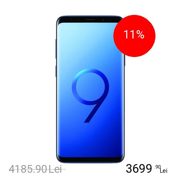 Samsung Galaxy S9 Plus Dual Sim 64GB LTE 4G Albastru 6GB RAM