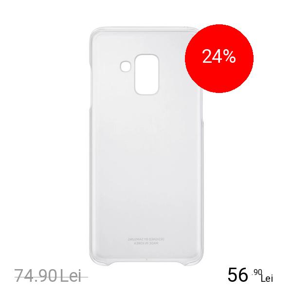 Samsung Husa Capac Spate Clear SAMSUNG Galaxy A8 (2018)