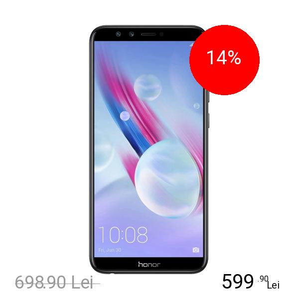 Huawei Honor 9 Lite Dual Sim 32GB LTE 4G Negru 3GB RAM