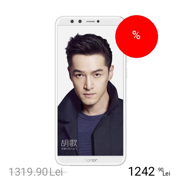 Huawei Honor 9 Lite Dual Sim 64GB LTE 4G Alb 4GB RAM