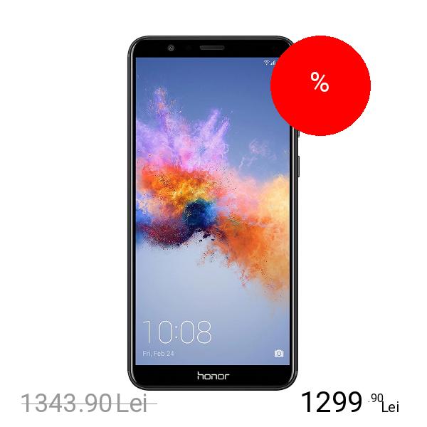 Huawei Honor 7X Dual Sim 128GB LTE 4G Negru 4GB RAM