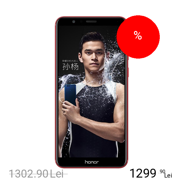Huawei Honor 7X Dual Sim 128GB LTE 4G Rosu 4GB RAM