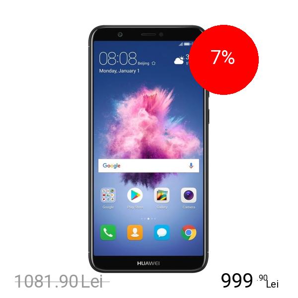 Huawei P Smart Dual Sim 64GB LTE 4G Negru 4GB RAM