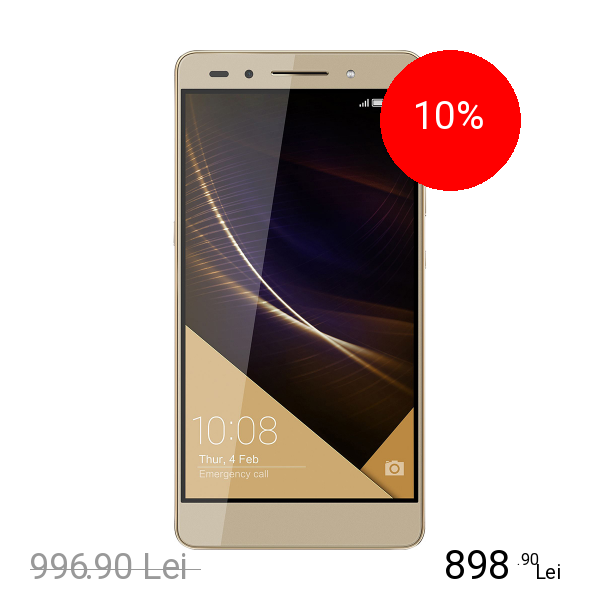 Huawei Honor 7 Plus 32GB LTE 4G Auriu