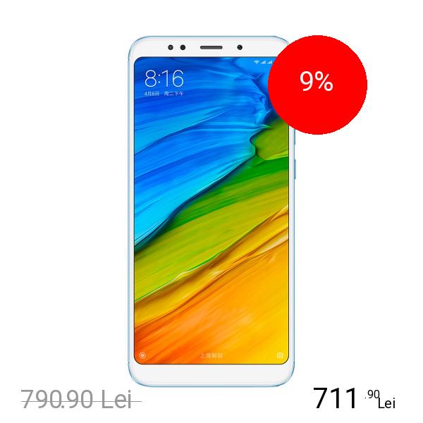 Xiaomi Redmi 5 Dual Sim 32GB LTE 4G Albastru 3GB RAM