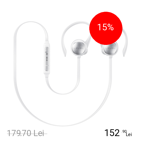 Samsung Casca Bluetooth Level Active Alb