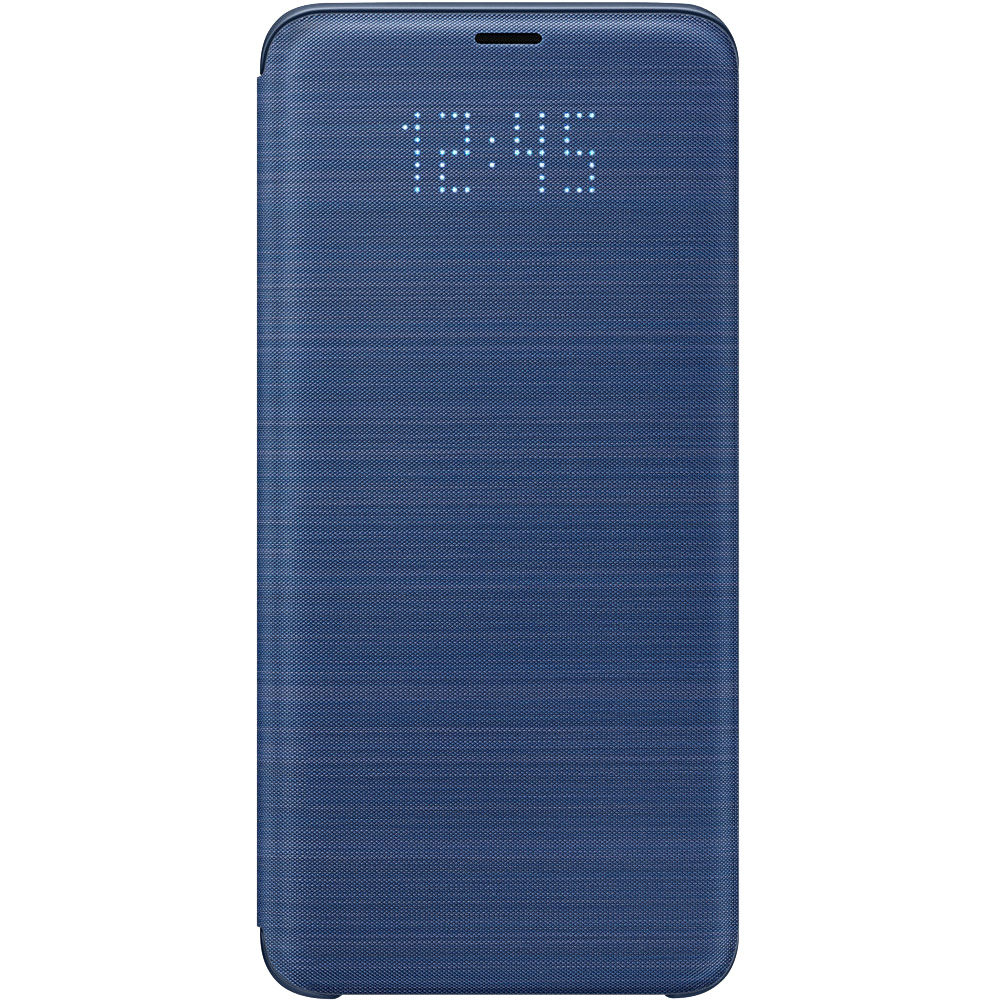 Samsung Husa Agenda Led View Albastru SAMSUNG Galaxy S9 Plus