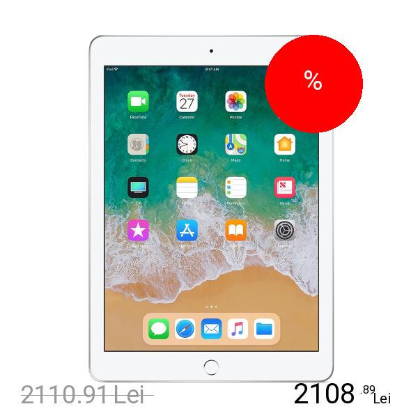 Imagine indisponibila pentru APPLE IPad 2018 9.7 128GB Wifi Argintiu