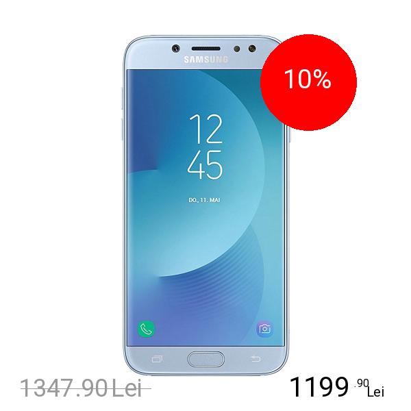 SAMSUNG Galaxy J7 Pro 2017 Dual Sim 64GB LTE 4G Albastru 3GB RAM