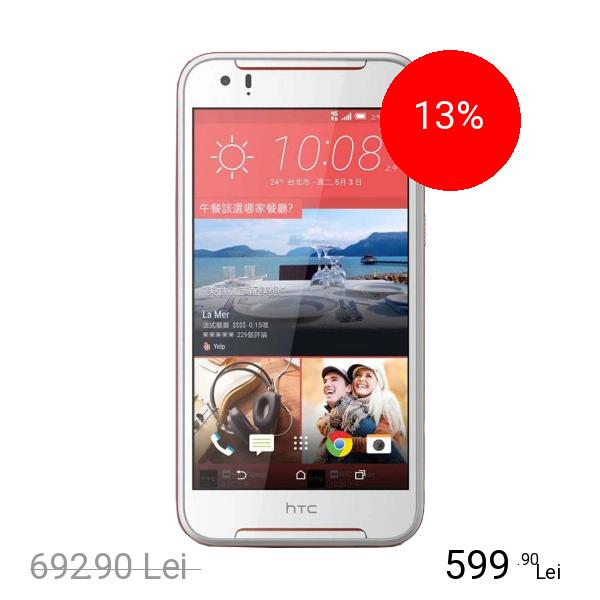 HTC DESIRE 830 Dual Sim 32GB LTE 4G Alb Rosu 3GB RAM