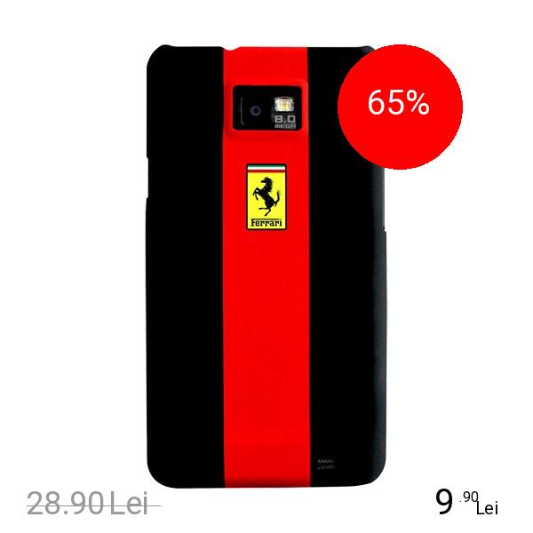 Ferrari Husa Capac spate Rosu Samsung Galaxy S2
