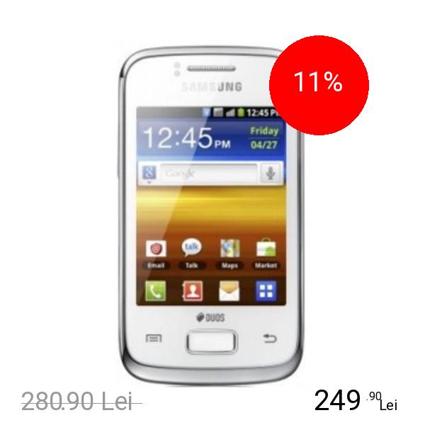 Samsung Galaxy Y Duos Alb