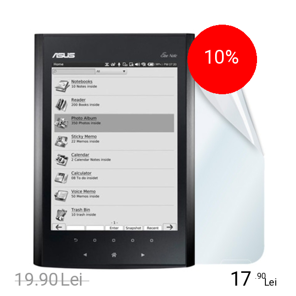 Celly Folie De Protectie Transparenta Alb ASUS Note EA800