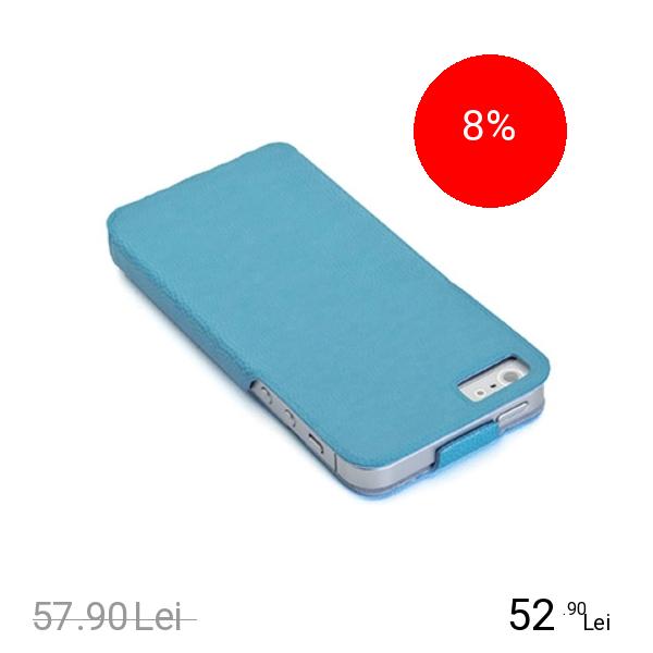 Celly Husa Flip Albastru APPLE iPhone 5s, iPhone SE