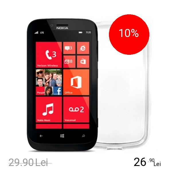 Celly Husa Capac Spate Transparent NOKIA Lumia 620