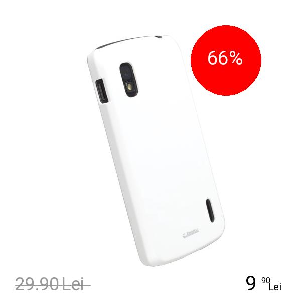 Krusell Husa Capac spate Color Cover Alb GOOGLE Nexus 4
