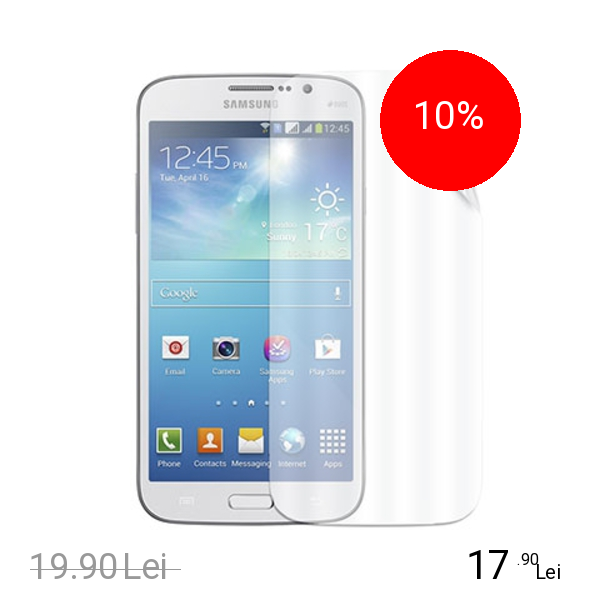 Celly Folie De Protectie Transparenta Samsung Galaxy Mega 6.3 Alb