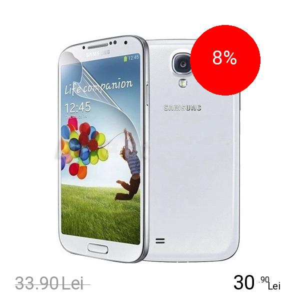 Cellularline Folie De Protectie Transparenta Alb SAMSUNG Galaxy E5, Galaxy S4
