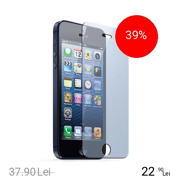 Celly Sticla Securizata Clasica 9H Alb APPLE iPhone 5s, iPhone SE