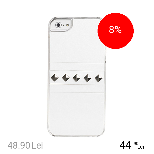 Celly Husa Capac spate Glamme Alb APPLE iPhone 5s, iPhone SE