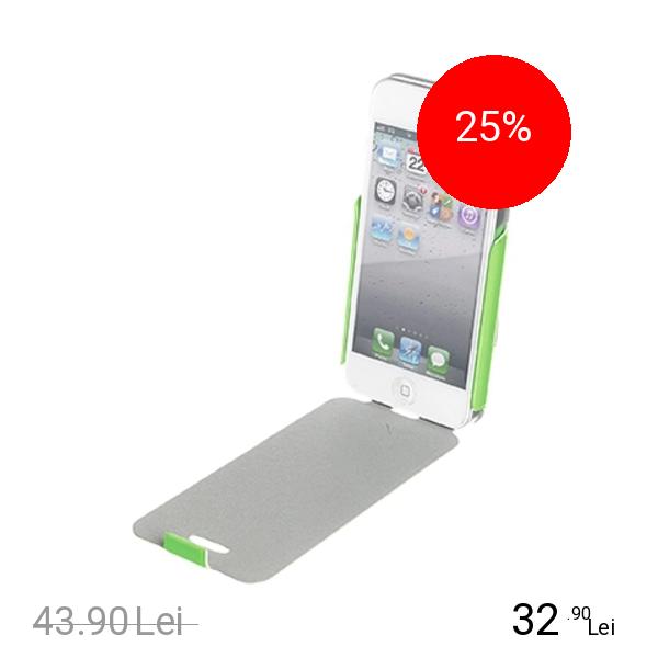 Muvit Husa Flip Fluosh Verde APPLE iPhone 5s, iPhone SE