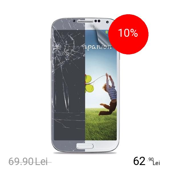 Cellularline Sticla Securizata Clasica Alb SAMSUNG Galaxy S4