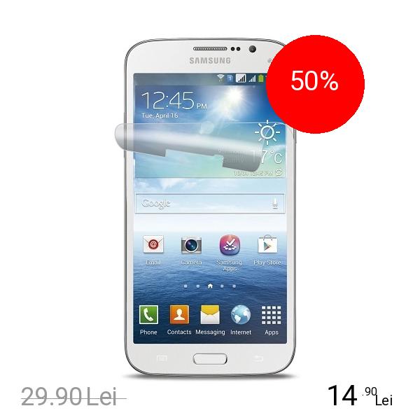 Cellularline Folie De Protectie Transparenta Alb SAMSUNG Galaxy Mega