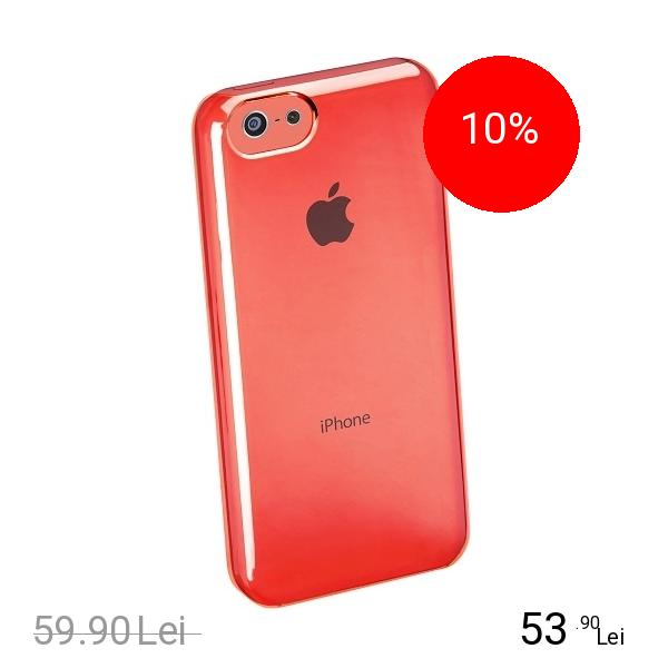 Cellularline Husa Capac Spate Boost Roz APPLE Iphone 5c, iPhone SE