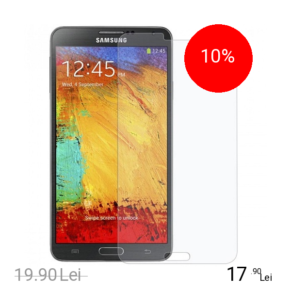 Celly Folie De Protectie Transparenta Alb SAMSUNG Galaxy Note 3