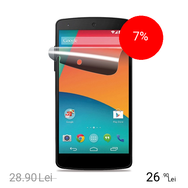 Cellularline Folie De Protectie Transparenta Alb Lg Nexus 5