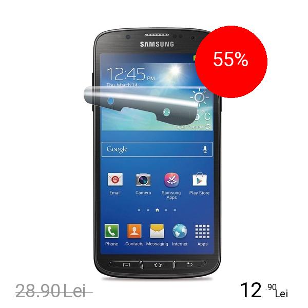 Cellularline Folie De Protectie Transparenta Alb SAMSUNG Galaxy S4 Active