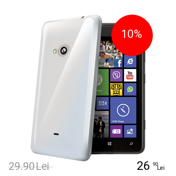 Celly Husa Capac Spate Transparent NOKIA Lumia 625