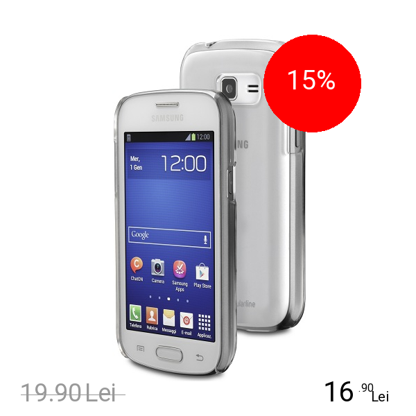 Cellularline Husa Capac spate Invisible Transparent SAMSUNG Galaxy Trend Lite