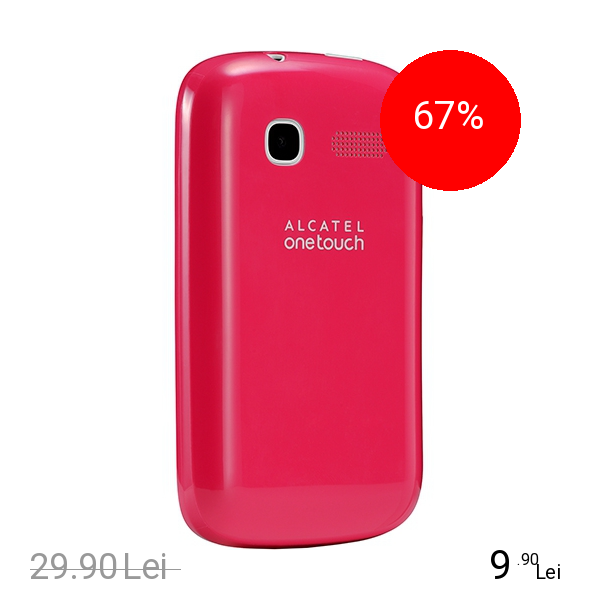 Celly Husa Capac spate Roz ALCATEL One Touch C1