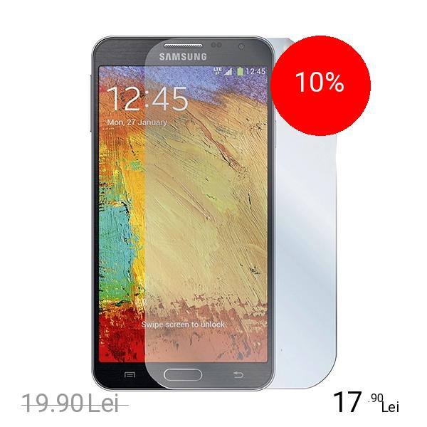Celly Folie De Protectie Transparenta GLOSSY Alb SAMSUNG Galaxy Note 3 Neo