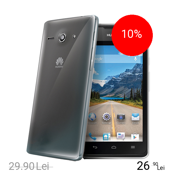 Celly Husa Capac spate Transparent HUAWEI Ascend Y530