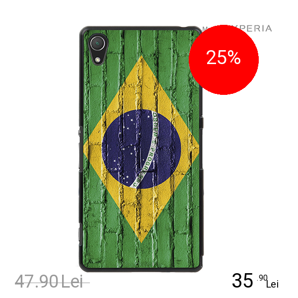 Muvit Husa Capac spate MFX Brazilia Multicolor SONY Xperia Z2