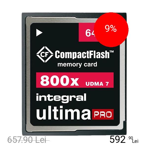 Integral Card Memorie Compact Flash UltimaPRO 64GB