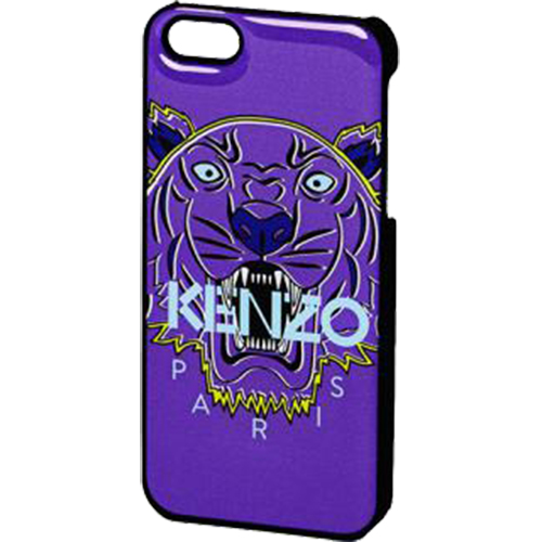 Kenzo Husa Capac spate Tiger Head Violet APPLE iPhone 5s, iPhone SE