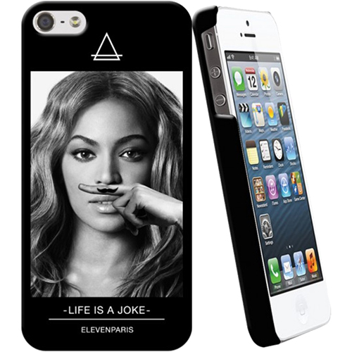 ELEVEN PARIS Capac Spate Beyonce ELEVEN PARIS Negru ELEVEN0026 APPLE iPhone 5s, iPhone SE