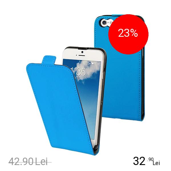 Muvit Husa Flip Slim Albastru APPLE iPhone 6, iPhone 6S