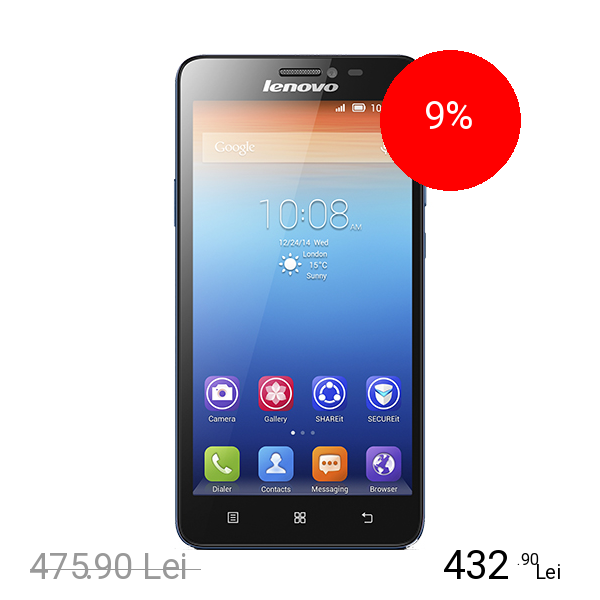 Lenovo S850 Dual Sim 16GB Albastru